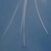 Aeroshell airshow during the road racing lunch break.