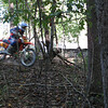 Fast guys on the singletrack.