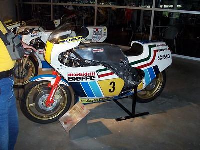 A Morbidelli racer.