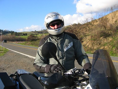 Christmas Weekend 2003, just out riding around