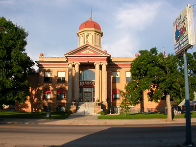 Bell Fouche, SD courthouse