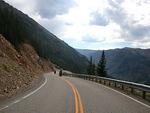 Goldie and Rick Wilson navigates BearTooth Pass 2007 file photo
