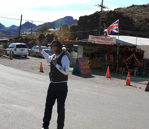 Traffic director David