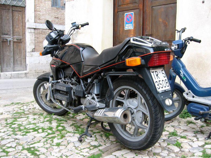 Italy. K75 in Amelia, Umbria.