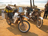 KTM an 2 valve GS in Freetown, coast of Sierra Leone. Rider is from the UK.
