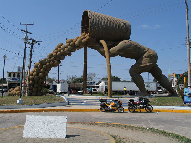 I believe this was in Naranjo, Mexico.
