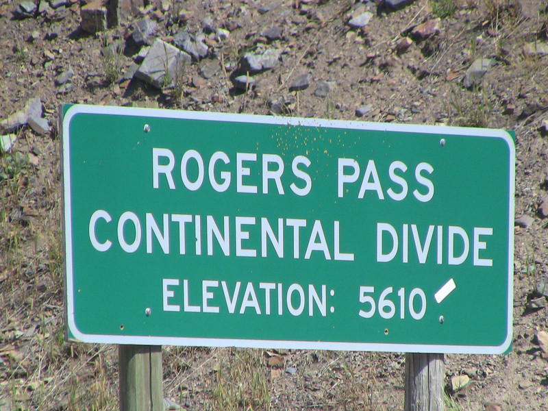 there's a Rogers Pass in Montana, too