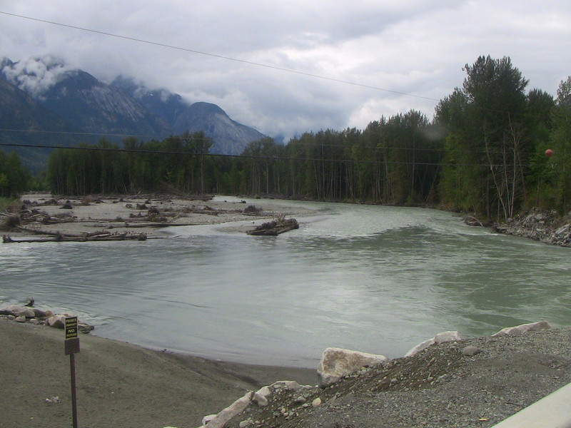 Bella Coola River from Saloompt Road
