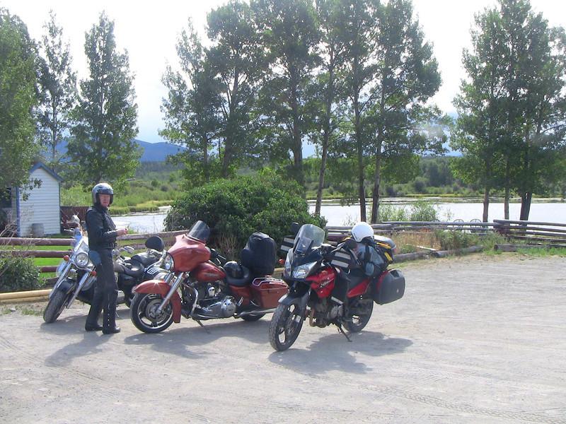 Graham Inn parking lot