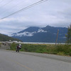 Between the harbor (above the Weestrom) and the town of Bella Coola