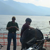 Ferry crossing Kootenay Lake toward Nelson, BC