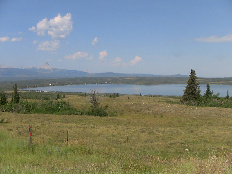 Chief Mountain NW of Duck Lake, Montana