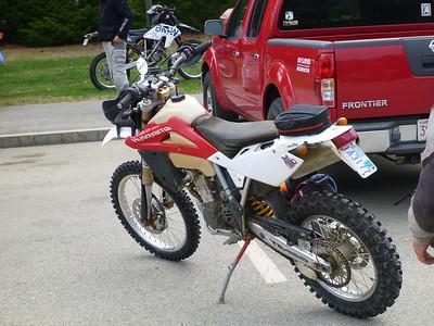 2012-04-21 Berwick to Fryeburg MC ride