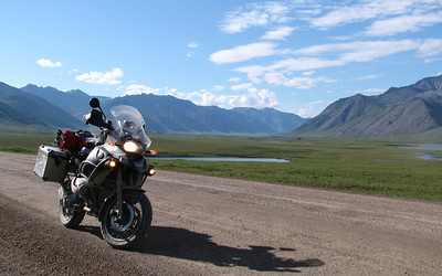 About 150 miles above the Arctic Circle!
