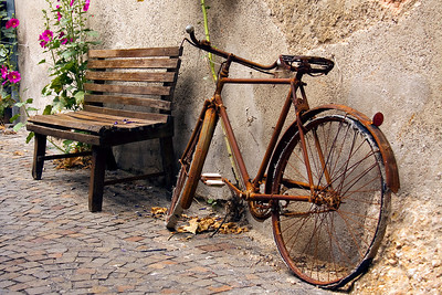 Broken Bike 01