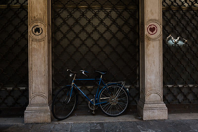 Padova Bike Dappled Light