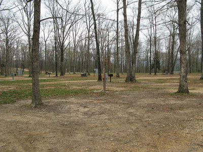 Deserted campground