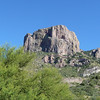 The mountain near Chisos lodge.