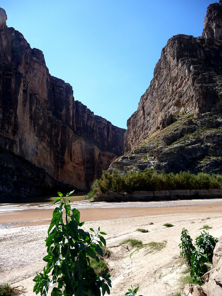 St. Elena Canyon on th Rio Grand
