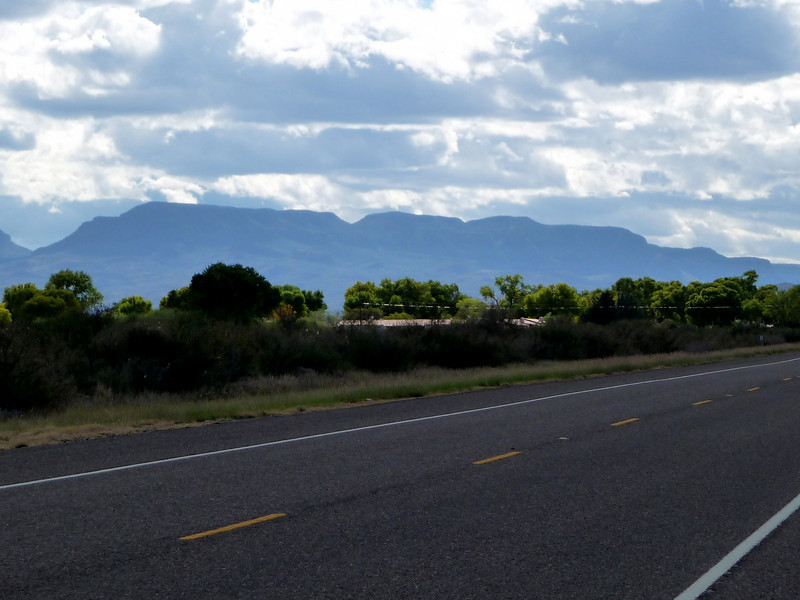 approaching the Davis Mountains