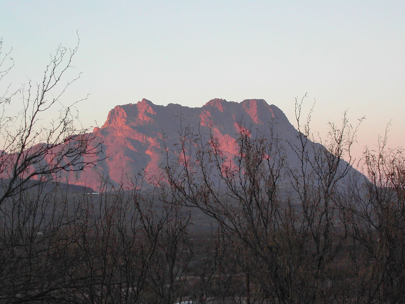 Sunset at Terlingua Ranch Lodge