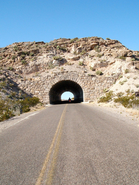 The tunnel on way back from Boquillas Canyon