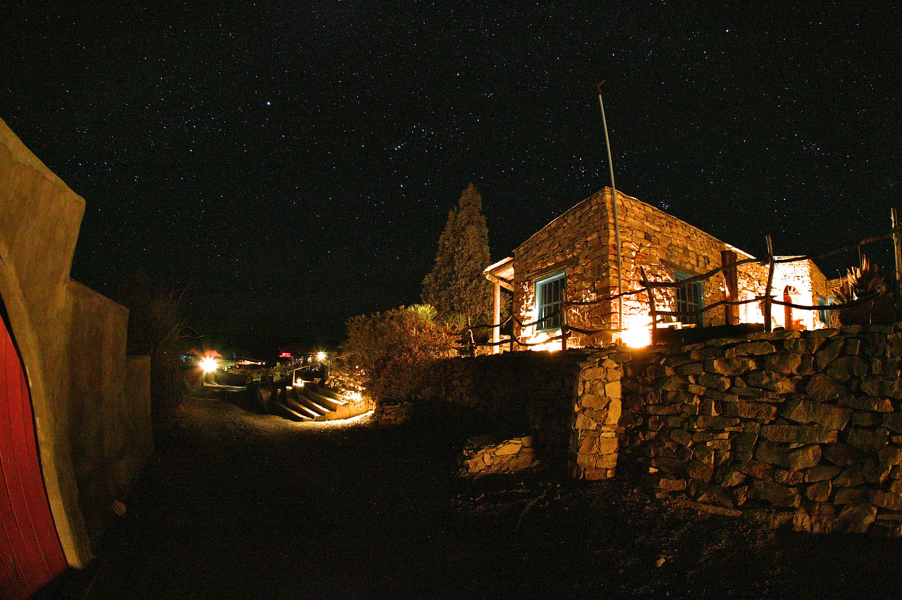 La Posada Milagro Hotel in the Terlingua Ghost Town is a unique and picturesque destination.