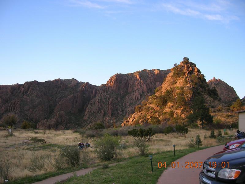 Chisos Mountain Lodge.