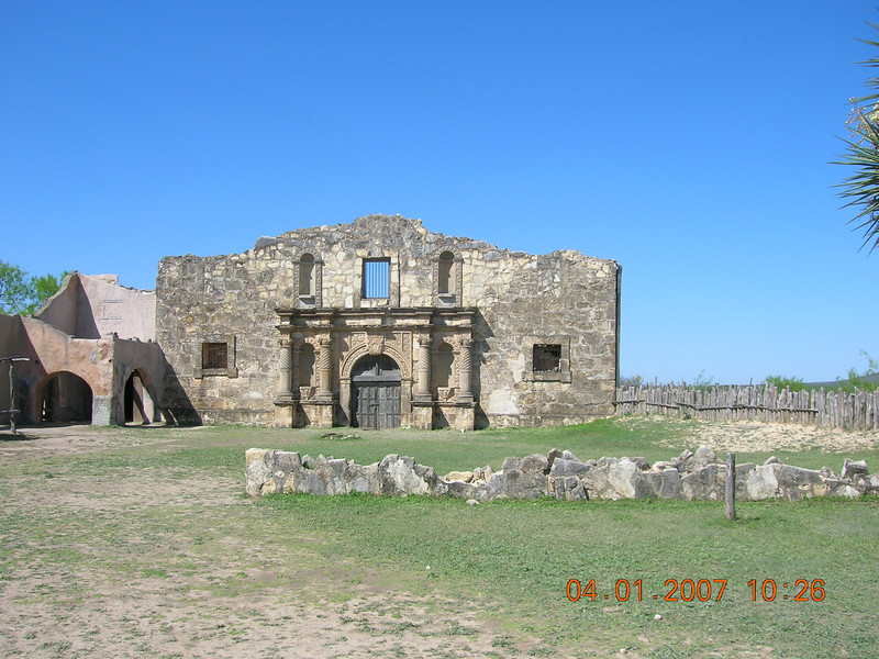 "Alamo Village where the Duke filmed ""The Alamo"".  Near Bracketville, TX"
