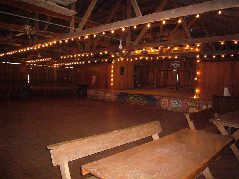 Dance hall at Luckenbach
