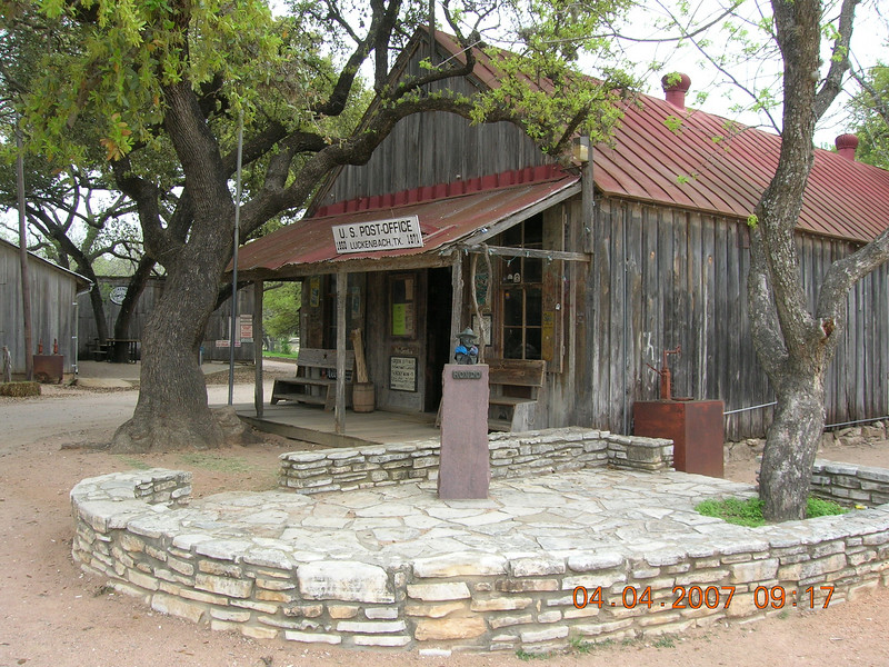 Hondo.  Everyone is someone in Luckenbach.