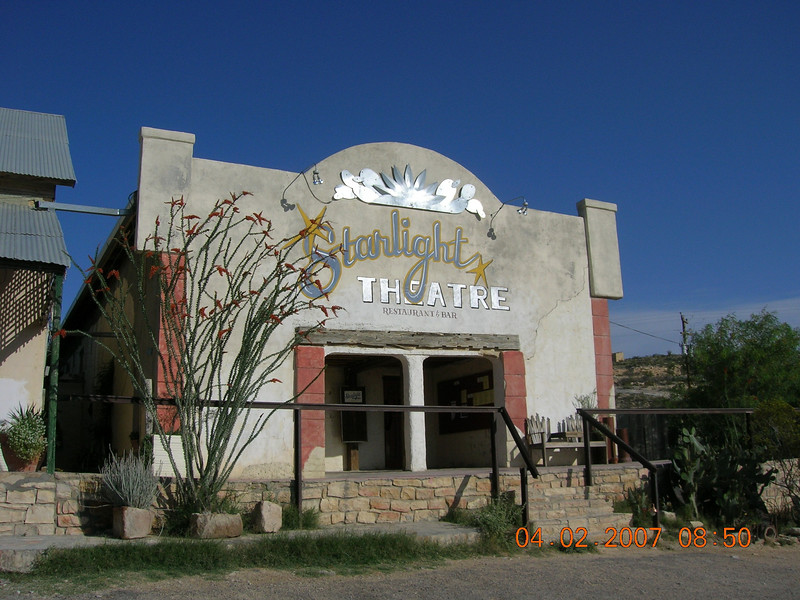 Starlight Theatre in Terlingua Ghost Town