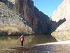 Standing in the Rio Grande