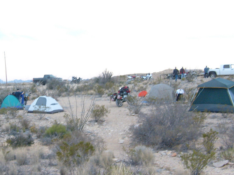 Desert Camping for a couple of days.  Free ain't bad.