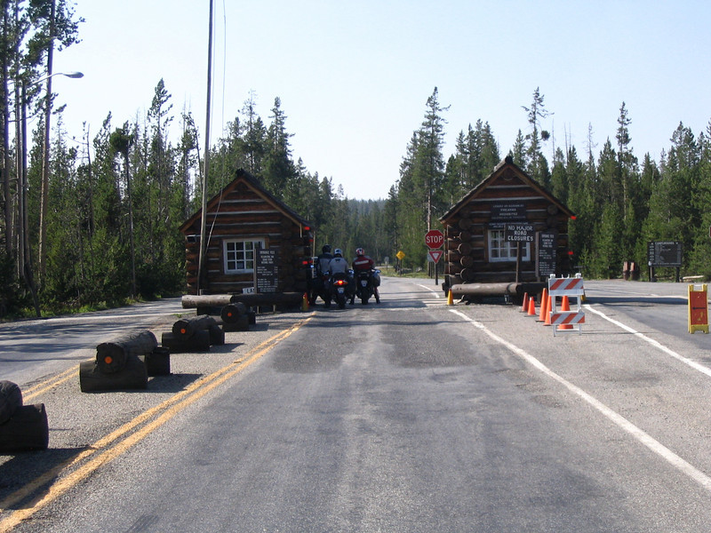 Entrance to Yellowstone