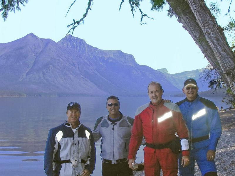 McDonald Lake in Glacier National Park - Craig Rodgers, Jorge Marques, Tom Thompson, Glenn Sparkman