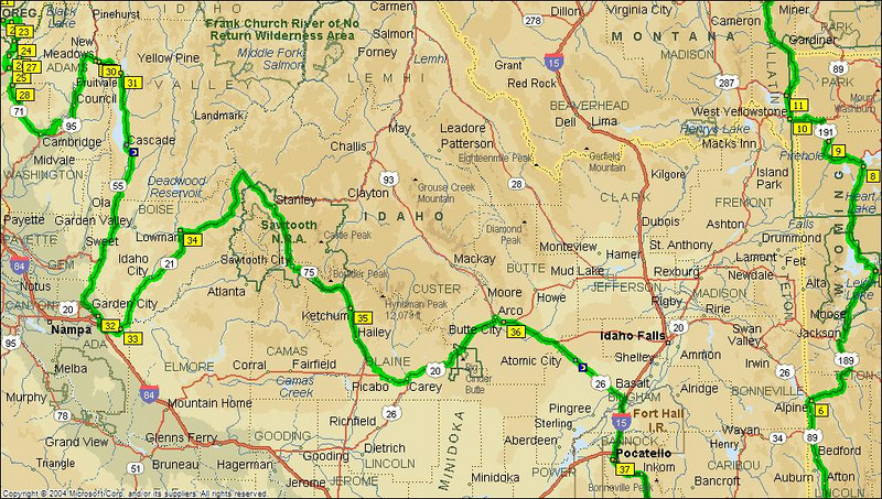Day 5 - Cambridge to Sun Valley<br /> Day 6 - Sun Valley to Evanston