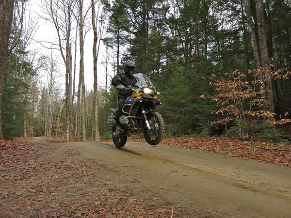 Big bike woods ride. 13DEC15