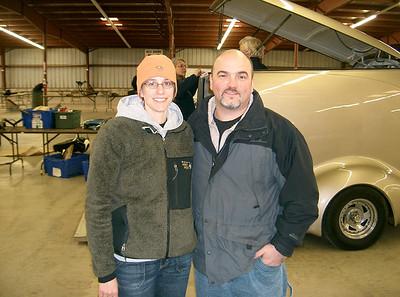 Amy and Tony at the 2008 Pecatonica swapmeet.