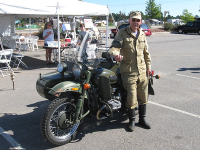 John Ong and his Ural sidecar rig.