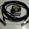Compact, lightweight, 15' jumper cable set for carrying on the bike.  Parts cost $10.00.