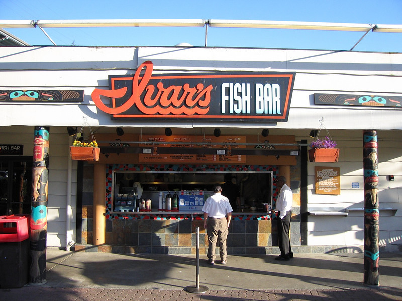 This week found us at Ivars Fish Bar next to the Salmon House in Seattle