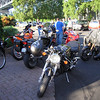 Ktm's, Yamahas, Ducati's - what an open and welcoming club we have.
