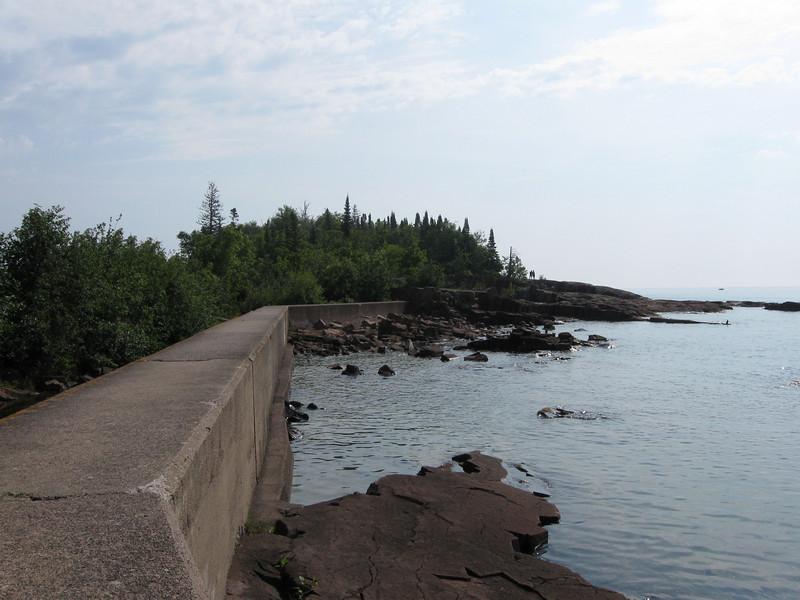 Grand Marias MN. Lake Superior shoreline
