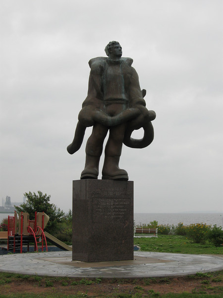 Statue in Duluth MN