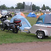 My Concours and vending rig parked in frontof my tent at the 2009 Guzzi rally.