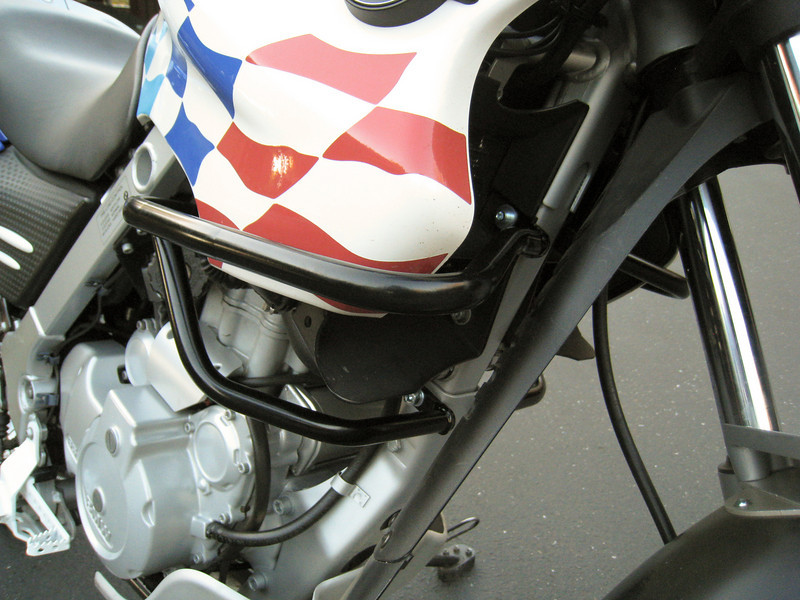 right side detail of Fairing Crashbars F650GS/Dakar<br /> (Toruratech Part Number: 051-0524)