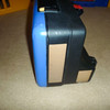 item: BMW Vario 20 to 31 - Liter Expandable Side Cases for the F650 and GS, custom painted to match the blue of the bike using OEM blue paint. can of paint is included in price.<br /> <br /> part #: 71 60 7 661 765 (LEFT)  71 60 7 661 766 (RIGHT)<br /> <br /> list price: $371 /each<br /> <br /> condition: good, minor nicks / scratches from use. silver on the photos is the original silver paint showing through the blue that was put on from previous owner. only thing broken is one side of the opening string on the right case that keeps the case from falling open while mounted to bike. all locks function normally, with a spare key to open them, as well as the original set of keys if you want to have the cases re-keyed (they were keyed to my ignition key)<br /> <br /> note: the tan strips in this photo are not actually tan, they are black reflective tape showing up in the camera's flash.<br /> <br /> price: sold