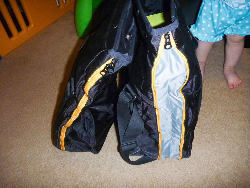 item: BWM Water Resistant Expandable Inner Bag Specially designed for Expandable Side Cases, this inner bag liner fits into either the left or right case. Bag is black with gray side panels and yellow piping. Sold individually. <br /> <br /> part #: 71 60 7 653 339<br /> <br /> list price: $128 / each<br /> <br /> cost: $100 for the pair.