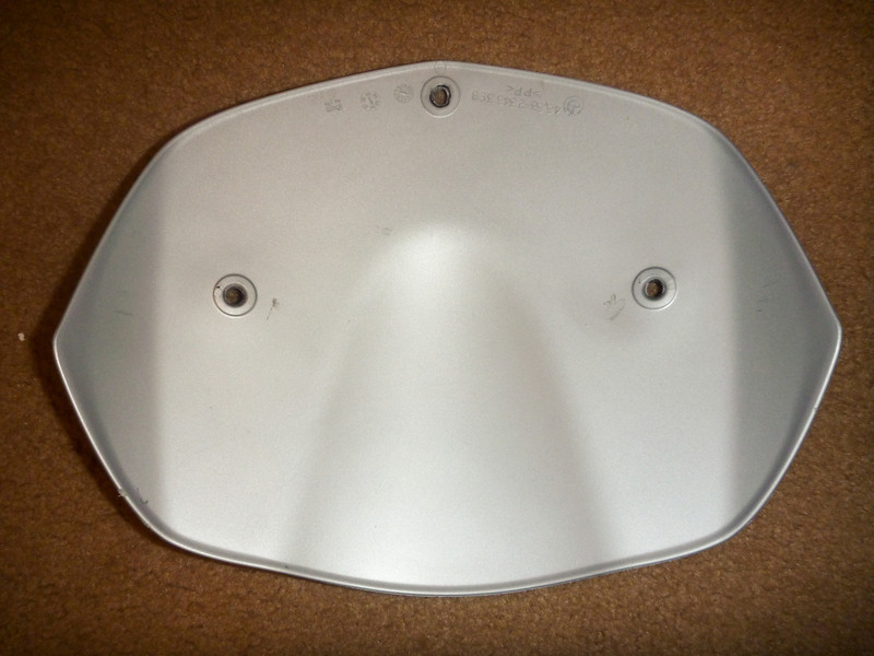 item: low windshield.<br /> <br /> part #: 46 63 2 346 398 SLIPSTREAM DEFLECTOR - SILVER<br /> <br /> condition: good, a few very minor scratches<br /> <br /> list price: $116<br /> <br /> price: $25
